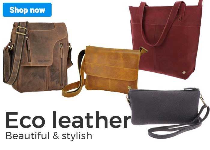 Bags from ecol leather