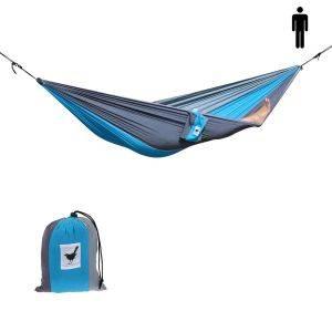 1-persoons hangmat Relaxzz: sterk, opvouwbaar en comfortabel