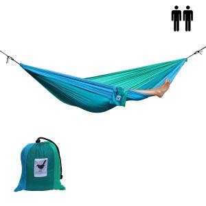 2-persoons lichtgewicht hangmat parachutezijde Ocean