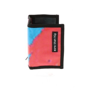 Billfold wallet of recycled advertising banners