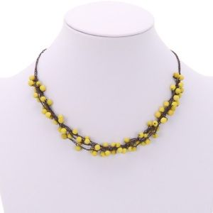 Chirilla necklace - yellow