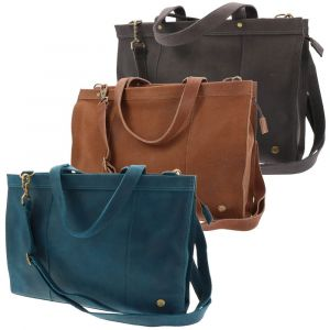 "ladies laptopbag 14"" eco leather brown green blue grey red black"