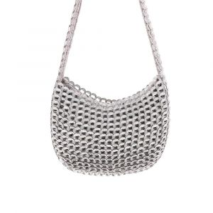 Carmen handbag of recycled ring pulls