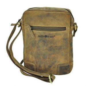 Utah - small shoulder bag brown vintage leather
