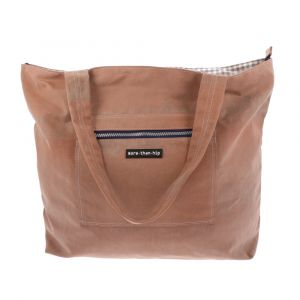 Shopper or beach bag of recycled windmill canvas - Windotter