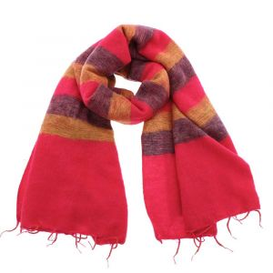 Soft, warm and large shawl from Nepal. Handmade & fair trade