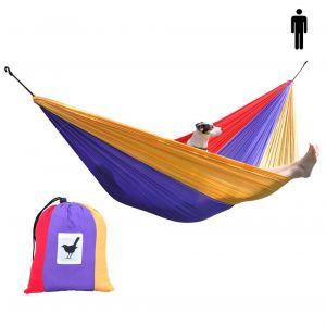 SINGLE (travel) hammock parachute silk Happy