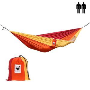 2-persoons (reis)hangmat Sunset: lichtgewicht en comfortabel