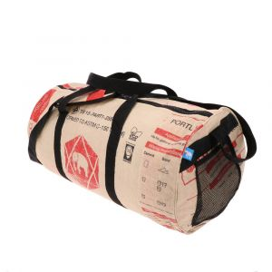 Jumbo L - special weekend, sports or travel bag from recycled cement bags