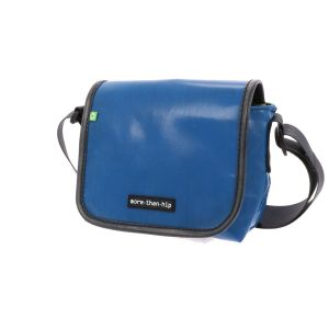 Small shoulder bag from recycled truck tarpaulin - Amsterdam