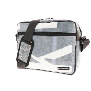 "13.3"" laptopbag from recycled billboards - Jerzy"