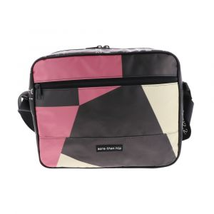 13.3 inch laptop bag made from recycled billboards - Jerzy - each one is unique