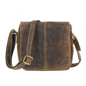 Medium-sized women's hand or shoulder bag with many compartments