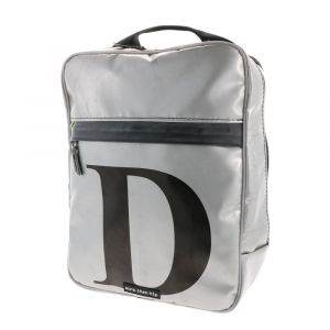 London - strong laptop backpack from recycled truck tarpaulin