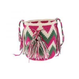 Mochila Wayuu bag Medium - unique summery crossbody bag