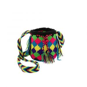 small mochila wayuu bag