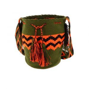 Mochila Wayuu bag - unique summery crossbody bag in Ibiza style