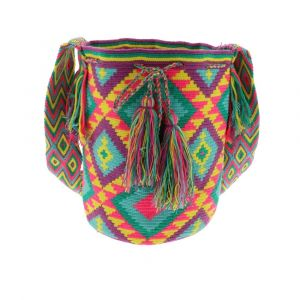 Mochila Wayuu bag - unique summery crossbody bag