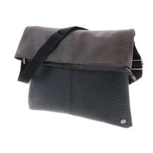 Avenida - fold-over bag from inner tyres & eco leather