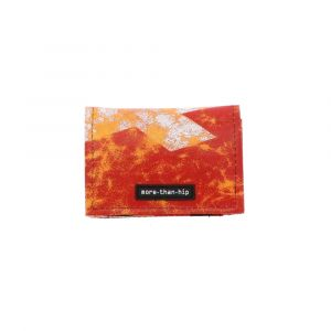 Small wallet of recycled truck tarpaulins - Troyes