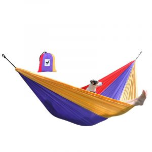 XXL double (travel) hammock parachute silk Happy