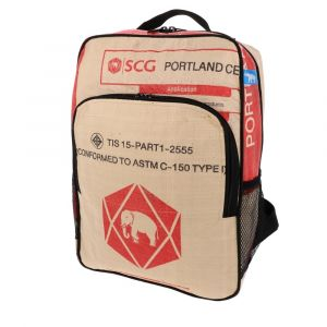 Trong - backpack from recycled cement bags