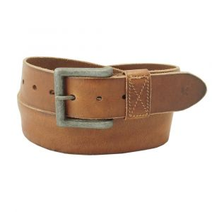 Men's belt Ryan - dark brown