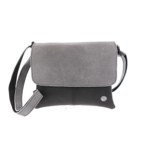 crossbody festival bag from inner tube and eco leather - grey Salsa