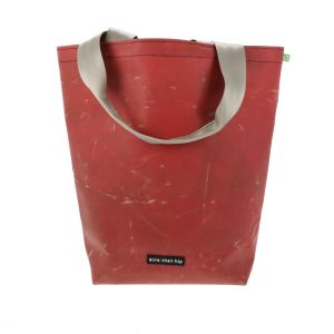 Basic shopper bag from recycled truck tarpaulin - Barcelona