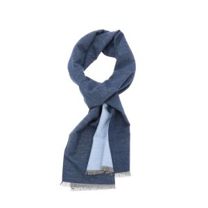 Super soft scarf or shawl made of bamboo FanXing - blue
