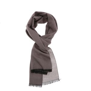 Super soft scarf or shawl made of bamboo FanXing - taupe/cream