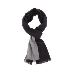 Super soft scarf or shawl made of bamboo FanXing - black/grey
