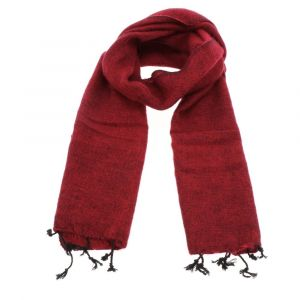 Yaku - scarf from 'yak wool' - red