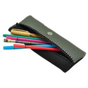 Sol – cool, urban pencil case or pouch for writing equipment and make-up - grey