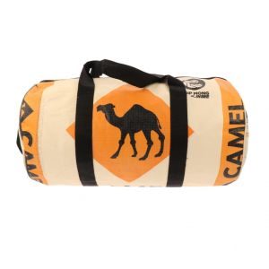 Weekend or sports bag from recycled cement bags - Jumbo camel