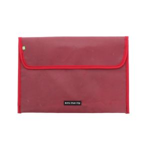 15.6 inch laptop sleeve from recycled truck tarp - Warschau