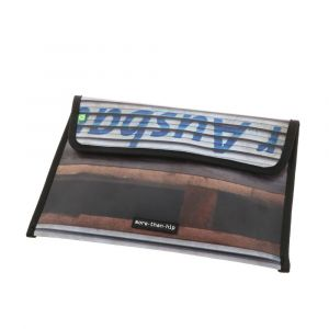 Warschau - 13 inch laptop sleeve from recycled truck tarp
