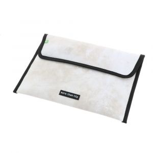 Warschau - 13 inch laptop sleeve from recycled truck tarpaulin