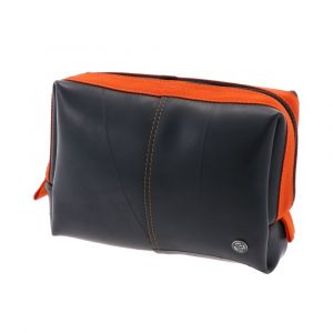 Guapo - wash bag of tyre tube - orange