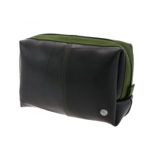 Guapo - wash bag of  tyre tube - army green