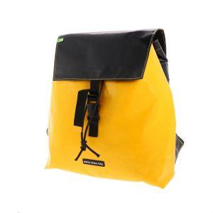 Spacious backpack made from recycled truck tarp - Hamburg
