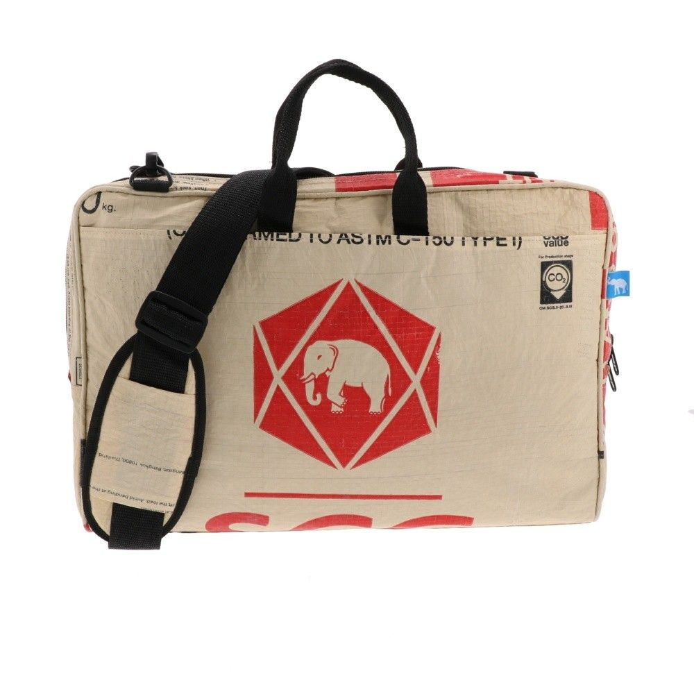 Laptop Bag From Recycled Cement Bags